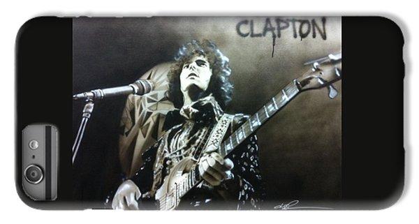 Eric Clapton iPhone 6s Plus Case - Clapton by Christian Chapman Art