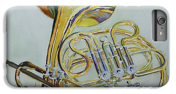 Trumpet iPhone 6s Plus Case - Classic Brass by Jenny Armitage
