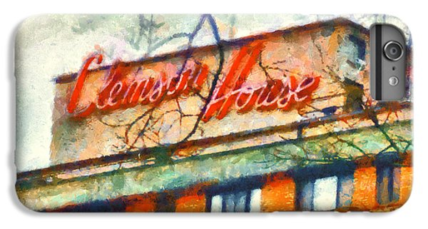 Clemson iPhone 6s Plus Case - Clemson House by Lynne Jenkins