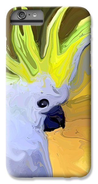 Cockatoo IPhone 6s Plus Case by Chris Butler