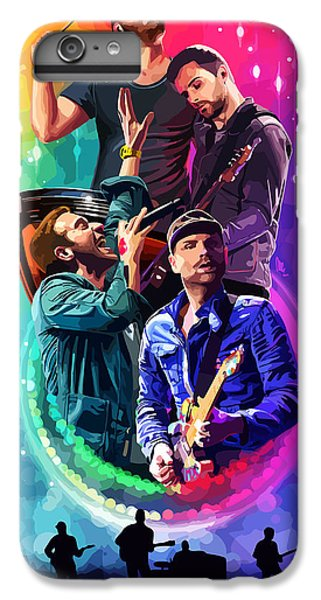 Coldplay iPhone 6s Plus Case - Coldplay Mylo Xyloto by FHT Designs