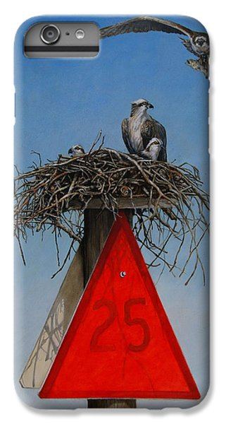 Osprey iPhone 6s Plus Case - Collaborative Effort by Dreyer Wildlife Print Collections
