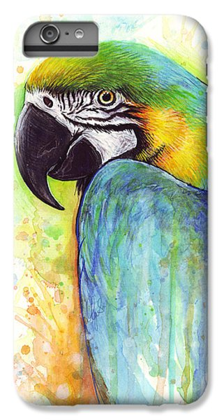 Macaw Painting IPhone 6s Plus Case
