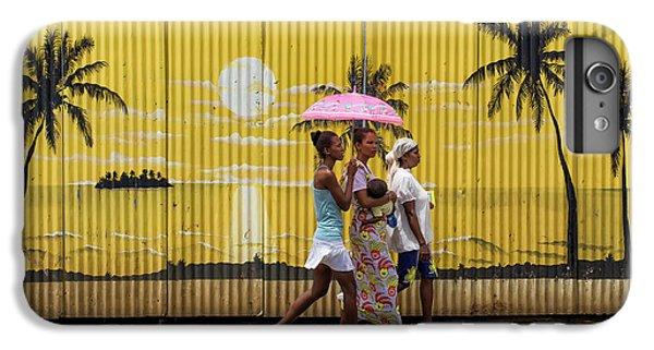 Umbrella iPhone 6s Plus Case - Colors In Africa by Gloria Salgado Gispert