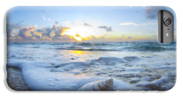 Ocean iPhone 6s Plus Case - Cone Shell Foam by Sean Davey
