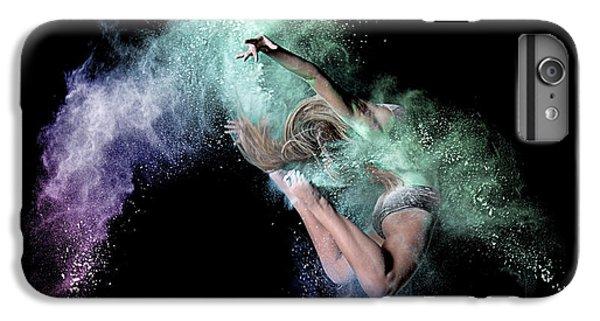 Explosion iPhone 6s Plus Case - Cosmic Dancer by Pauline Pentony Ma