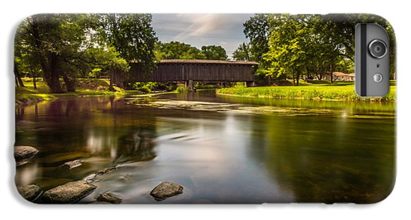 Covered Bridge Long Exposure IPhone 6s Plus Case by Randy Scherkenbach