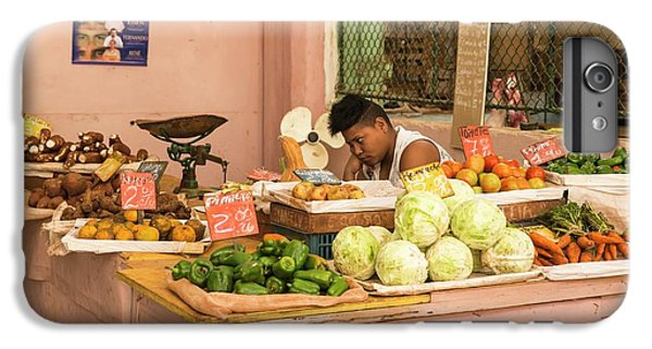 Cuban Market Stall IPhone 6s Plus Case by Peter J. Raymond
