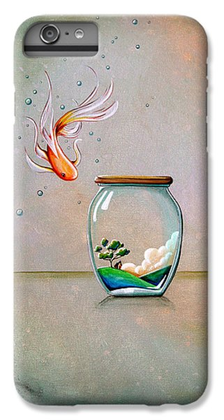 Goldfish iPhone 6s Plus Case - Curiosity by Cindy Thornton