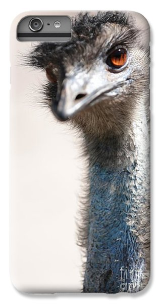 Curious Emu IPhone 6s Plus Case by Carol Groenen