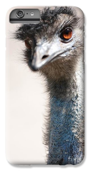 Curious Emu IPhone 6s Plus Case by Carol Groenen