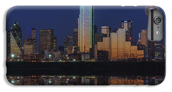 Dallas Skyline iPhone 6s Plus Case - Dallas Aglow by Rick Berk