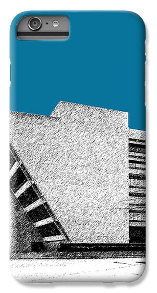 Dallas Skyline iPhone 6s Plus Case - Dallas Skyline City Hall - Steel by DB Artist