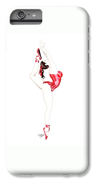 Dancer IPhone 6s Plus Case by Renate Janssen