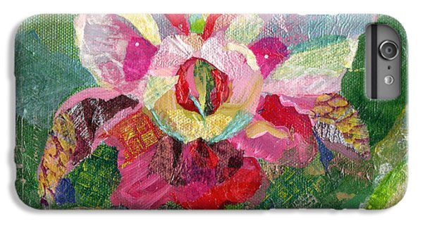 Dancing Orchid II IPhone 6s Plus Case by Shadia Derbyshire