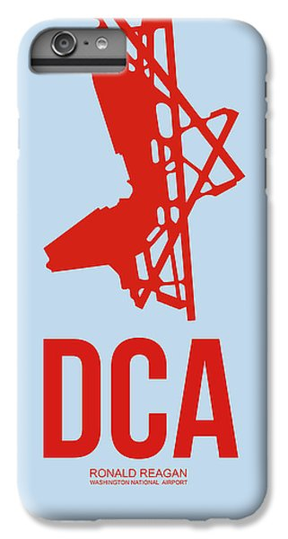 Dca Washington Airport Poster 2 IPhone 6s Plus Case by Naxart Studio