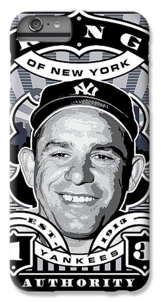 Dcla Yogi Berra Kings Of New York Stamp Artwork IPhone 6s Plus Case by David Cook Los Angeles
