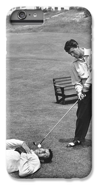 Dean Martin & Jerry Lewis Golf IPhone 6s Plus Case