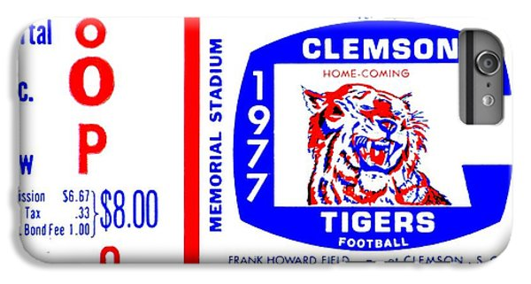 Clemson iPhone 6s Plus Case - Death Valley 1977 by Benjamin Yeager