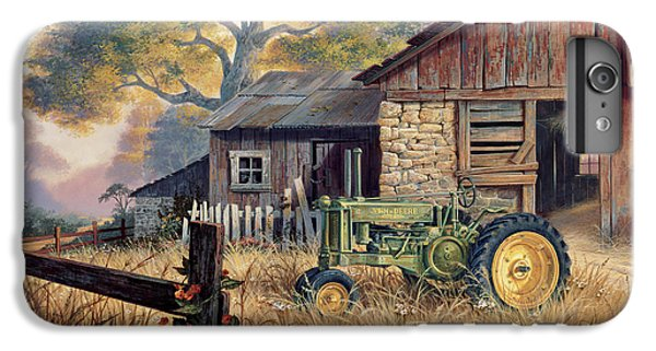 Landscape iPhone 6s Plus Case - Deere Country by Michael Humphries