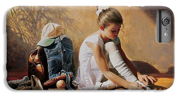 iPhone 6s Plus Case - Denim To Lace by Greg Olsen