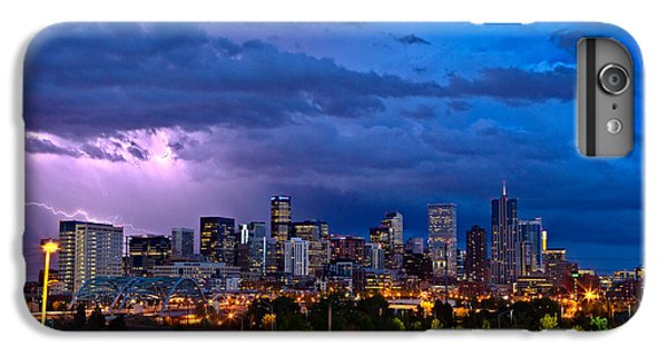 Denver Skyline IPhone 6s Plus Case by John K Sampson