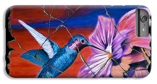 Bogdanoff iPhone 6s Plus Case - Desert Hummingbird by Steve Bogdanoff