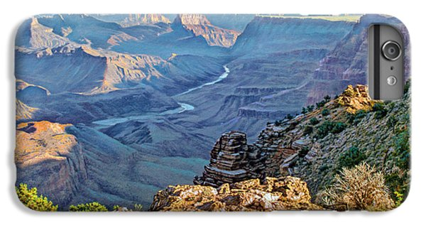 Grand Canyon iPhone 6s Plus Case - Desert View-morning by Paul Krapf