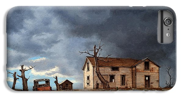 Truck iPhone 6s Plus Case - Different Day At The Homestead by Paul Krapf