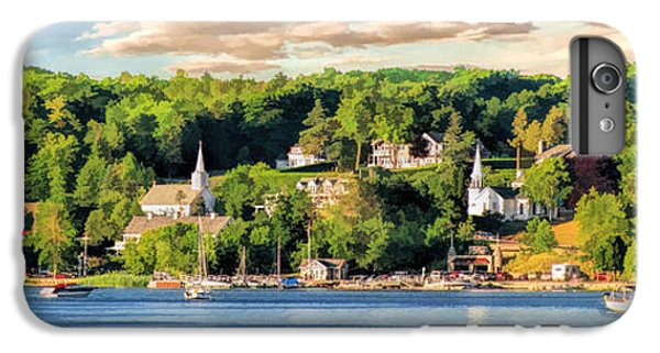Door County Ephraim Harbor Sunset  Panorama IPhone 6s Plus Case