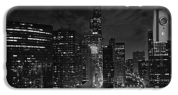Downtown Chicago At Night IPhone 6s Plus Case by Ricky L Jones