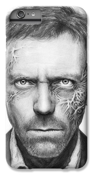 Dr. Gregory House - House Md IPhone 6s Plus Case by Olga Shvartsur