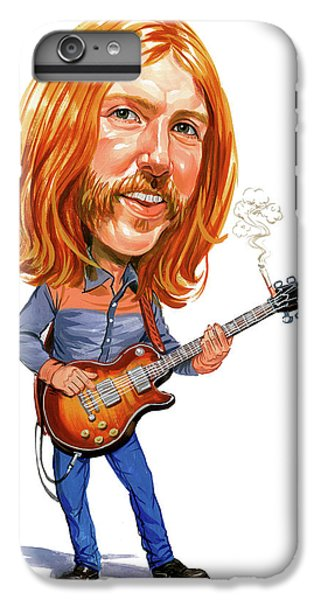 Music iPhone 6s Plus Case - Duane Allman by Art