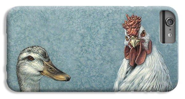 Chicken iPhone 6s Plus Case - Duck Chicken by James W Johnson