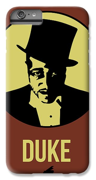 Duke iPhone 6s Plus Case - Duke Poster 1 by Naxart Studio