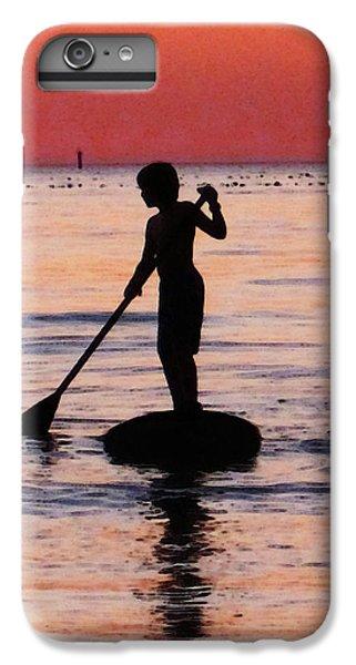 Ocean Sunset iPhone 6s Plus Case - Dusk Float - Sunset Art by Sharon Cummings