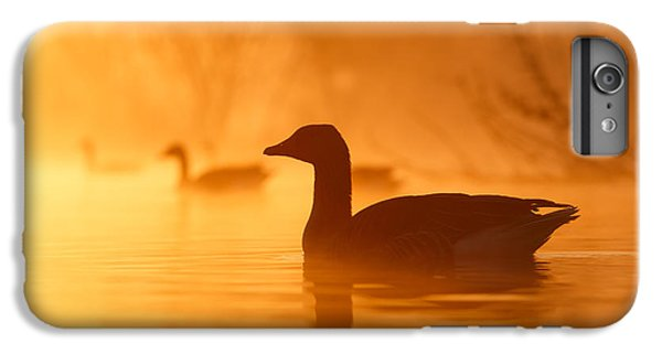 Geese iPhone 6s Plus Case - Early Morning Mood by Roeselien Raimond