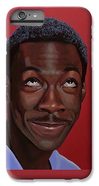 Beverly Hills iPhone 6s Plus Case - Eddie Murphy Painting by Paul Meijering