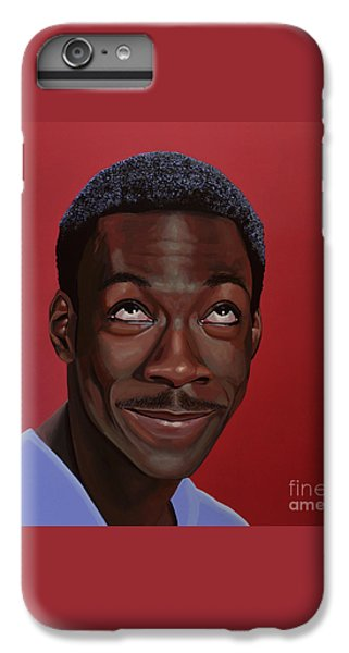 Eddie Murphy Painting IPhone 6s Plus Case by Paul Meijering