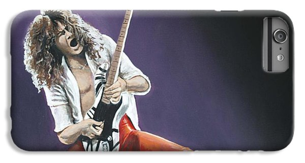 Van Halen iPhone 6s Plus Case - Eddie Van Halen by Tom Carlton
