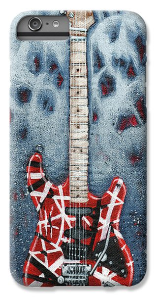 Rock And Roll iPhone 6s Plus Case - Eddie's Frankenstrat by Arturo Vilmenay
