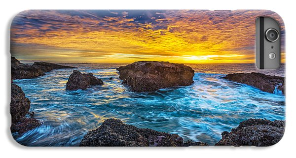 Ocean Sunset iPhone 6s Plus Case - Edge Of North America by Robert Bynum