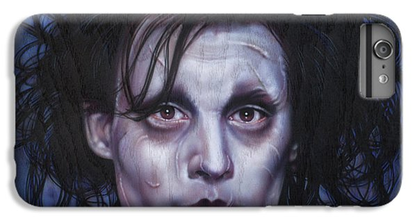 Edward Scissorhands IPhone 6s Plus Case by Tim  Scoggins