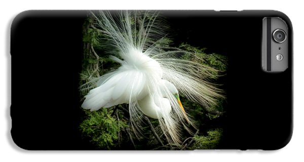 Egret iPhone 6s Plus Case - Elegance Of Creation by Karen Wiles