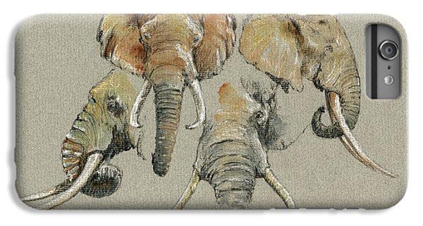 Elephant Heads IPhone 6s Plus Case