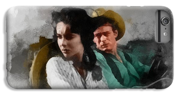 Liz Taylor iPhone 6s Plus Case - Elizabeth And James - Giant by Paulette B Wright