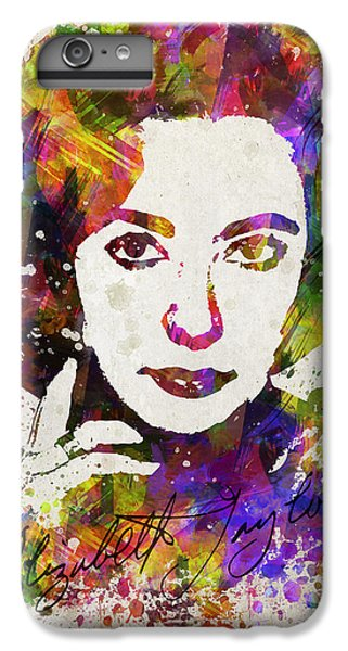 Liz Taylor iPhone 6s Plus Case - Elizabeth Taylor In Color by Aged Pixel