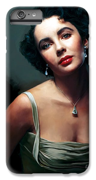 Elizabeth Taylor IPhone 6s Plus Case by Paul Tagliamonte