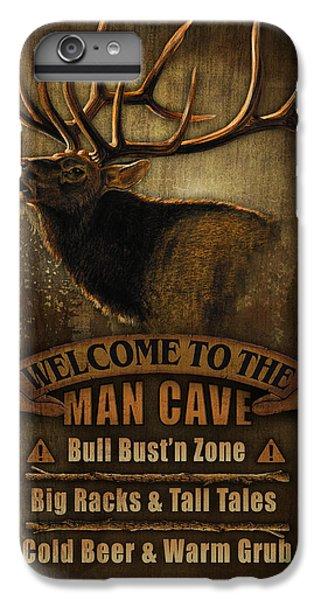 Pheasant iPhone 6s Plus Case - Elk Man Cave Sign by JQ Licensing