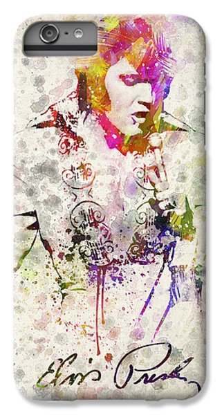 Rhythm And Blues iPhone 6s Plus Case - Elvis Presley by Aged Pixel